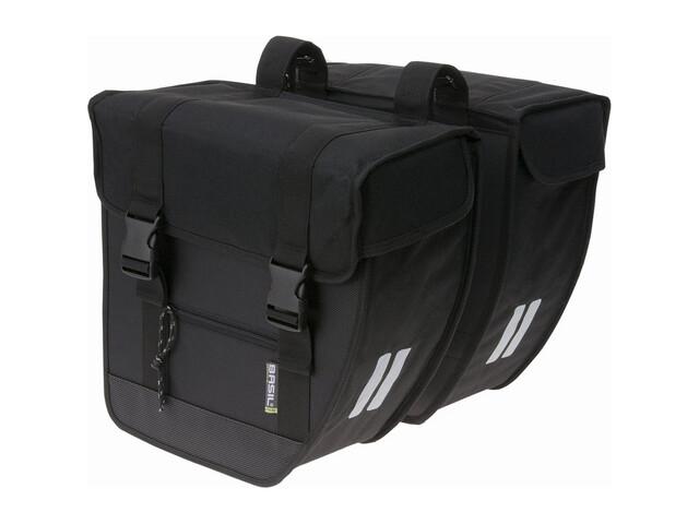 Basil Tour Doppeltasche schwarz